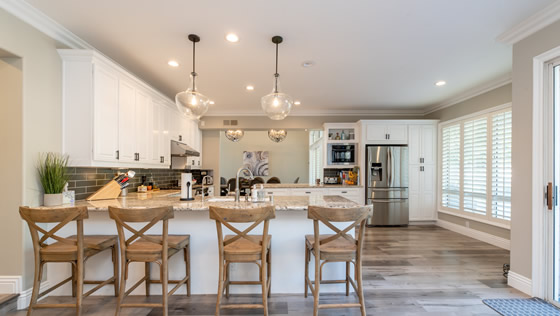 Kitchen Remodeling installed by Woodstock Home Improvement